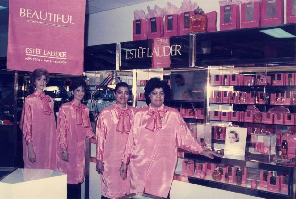 Estee Lauder Launch 80's