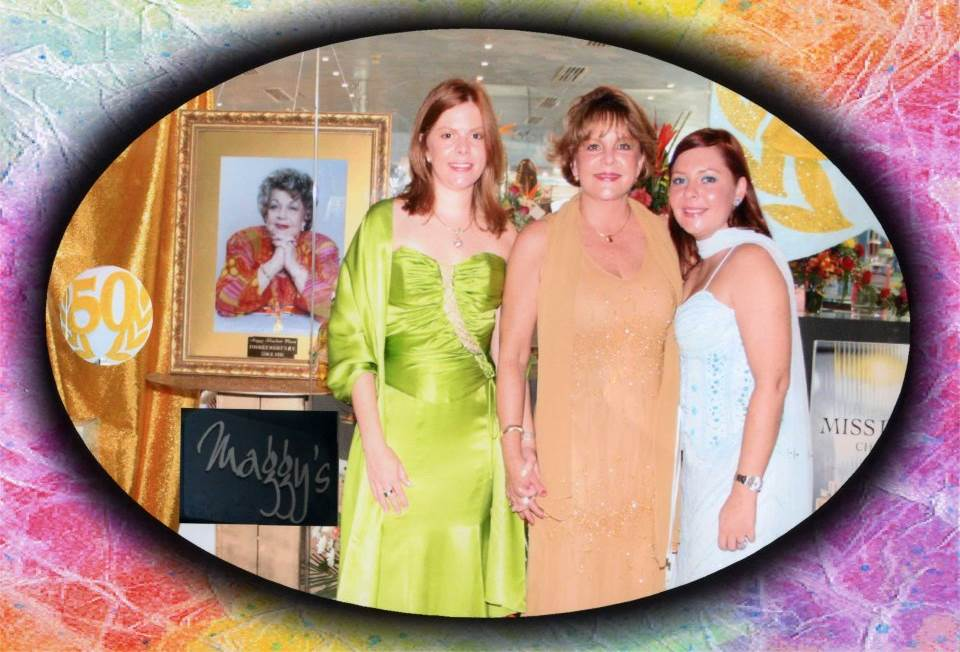 Maggy's 50th year anniversary, representing half a century of dedication and persuit of excellence in the Beauty Industry.